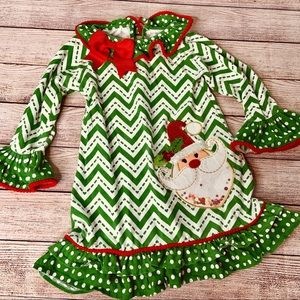 Counting Daisies Holiday Dress 4T